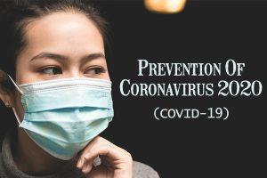 prevention of corona virus