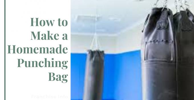 Homemade Punching Bag