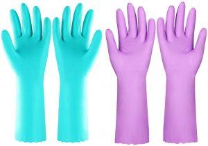 washing gloves