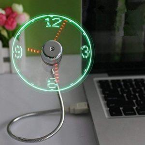 fan with clock usb gadget