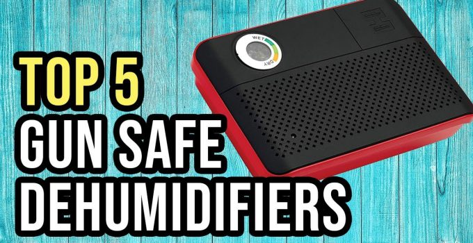 5 Best Gun Safe Dehumidifiers Reviews and Guide for 2021